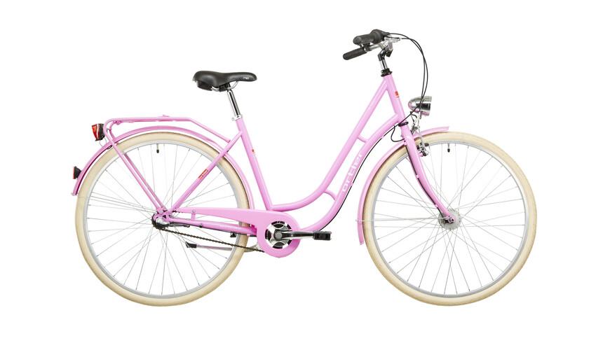 Ortler Detroit 3s - Vélo de ville Femme - rose
